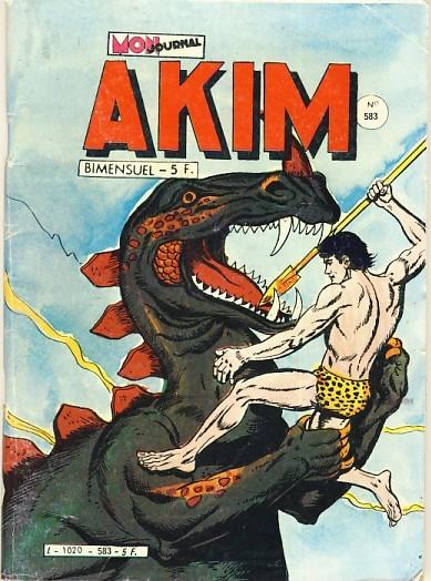 Couverture de Akim (1re série) -583- La fille aux yeux d'étoiles