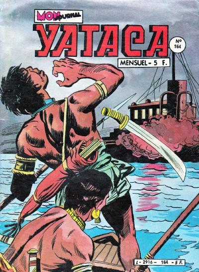 Couverture de Yataca (Fils-du-Soleil) -164- Le cirque de l'épouvante
