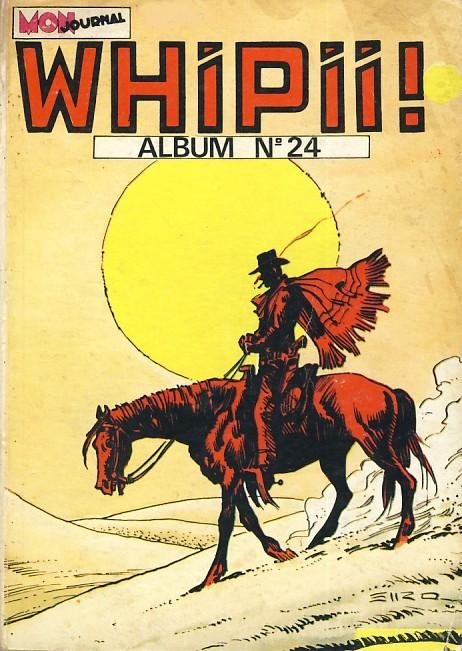 Couverture de Whipii ! (Panter Black, Whipee ! puis) -Rec24- Album N°24 (du n°68 au n°70)