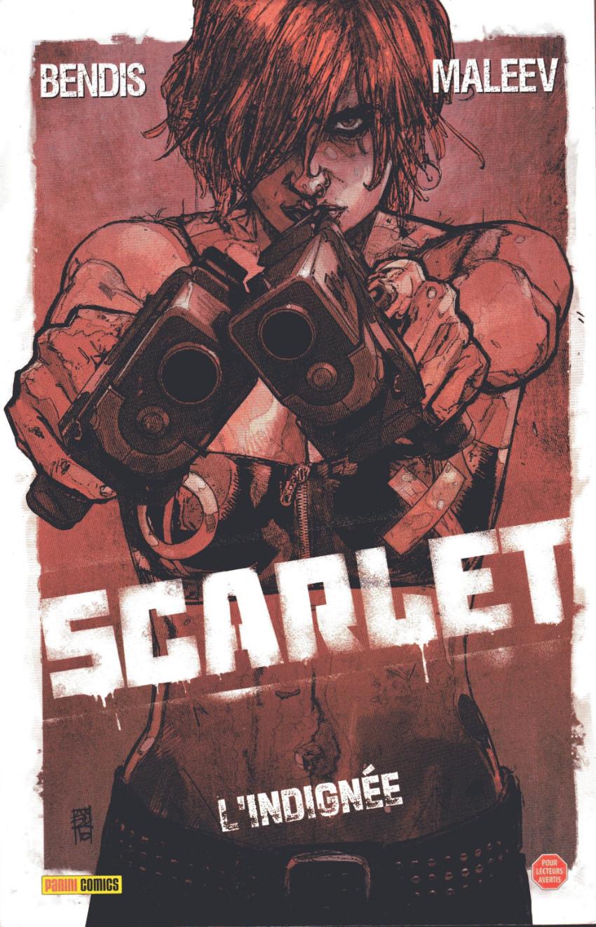 Couverture de Scarlet -1- L'indignée