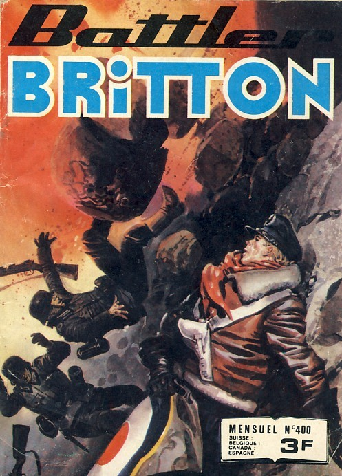 Couverture de Battler Britton -400- Bandit d'honneur