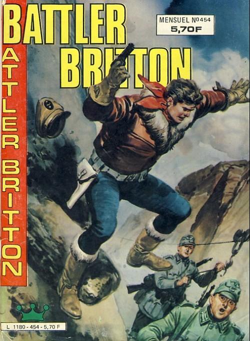 Couverture de Battler Britton -454- Les rayons d'argent
