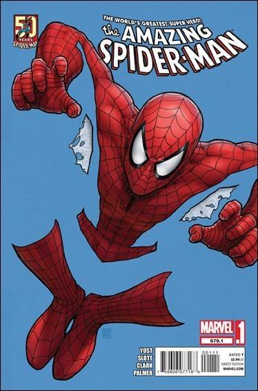Couverture de Amazing Spider-Man (The) Vol.2 (Marvel comics - 1999) -679.1- Untitled