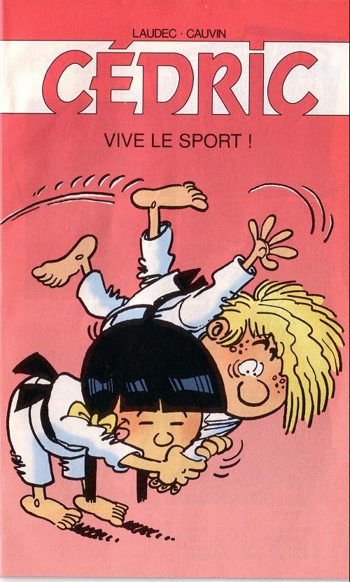 Couverture de Cédric -Pub1- Vive le sport !