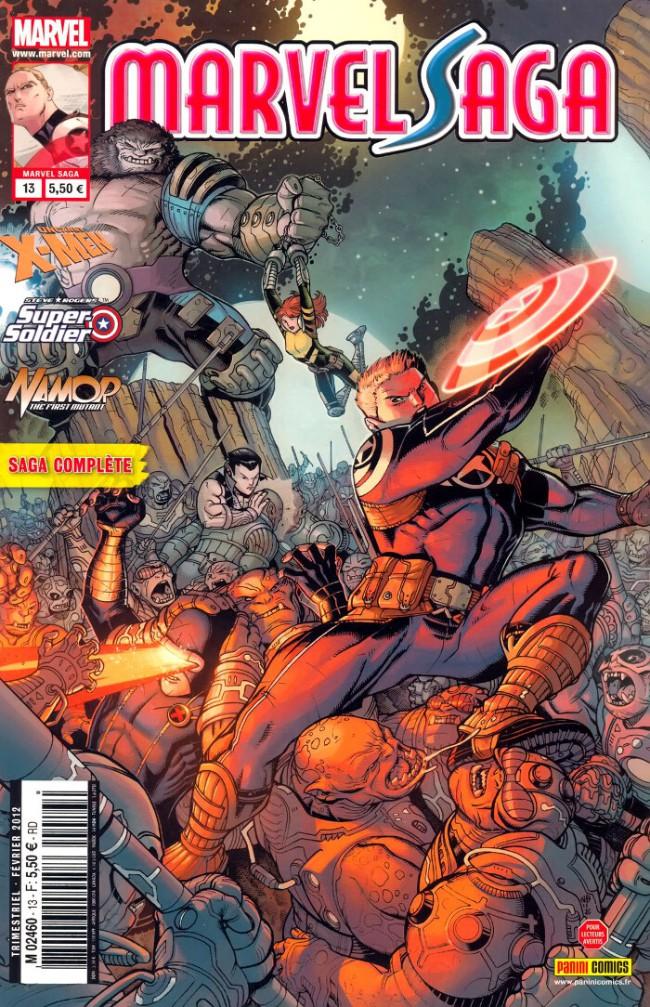 Couverture de Marvel Saga (1re série - 2009) -13- L'évasion de la zone négative