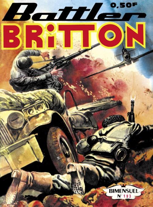 Couverture de Battler Britton -183- Canon volant