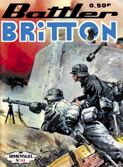 Couverture de Battler Britton -188- Pilotes en Norvège