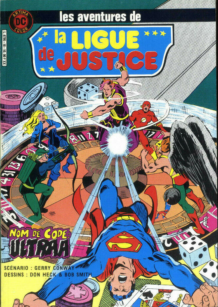 Couverture de La ligue de justice (1re série - Arédit - Artima Color DC Super Star puis Artima Color DC) -10- Nom de code : Ultraa