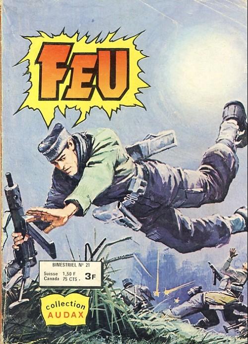 Couverture de Feu -21- Mission justice