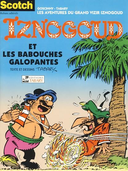 Couverture de Iznogoud -PUB- Iznogoud et les babouches galopantes