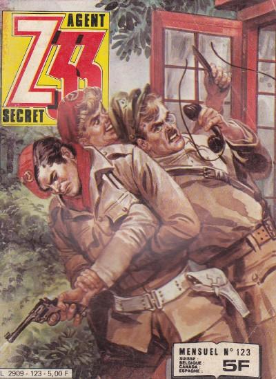 Couverture de Z33 agent secret -123- La furie des taupes