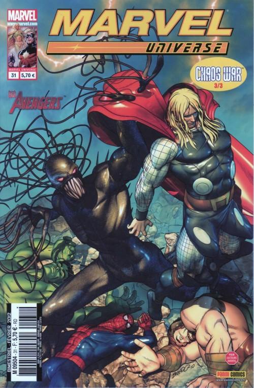 Couverture de Marvel Universe (Panini - 2007) -31- Chaos War 3/3