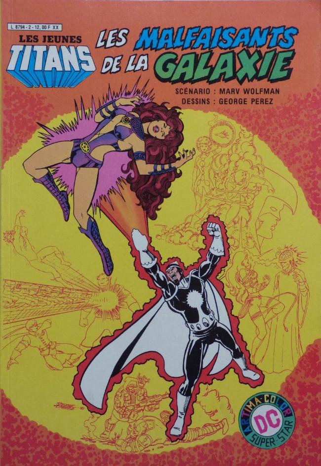 Les jeunes Titans (1e Série - Arédit - Artima Color DC Super Star)