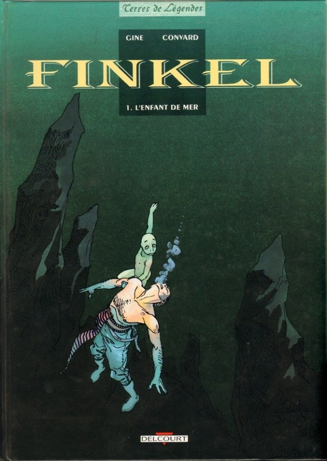 Couverture de Finkel -1- L'enfant de mer
