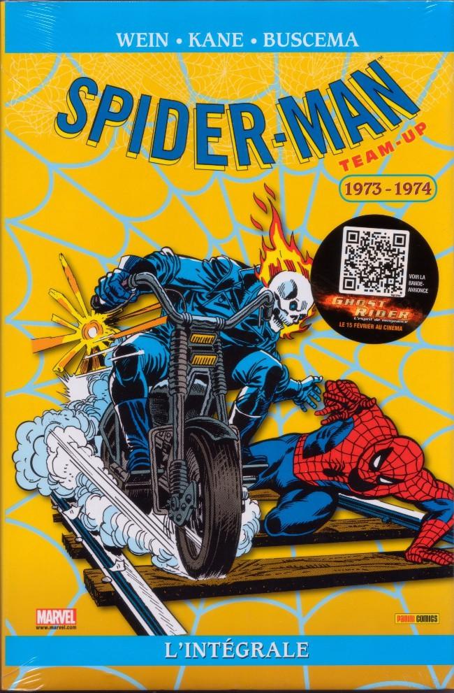 Couverture de Spider-Man Team-Up (L'Intégrale) -2INT- L'intégrale 1973-1974