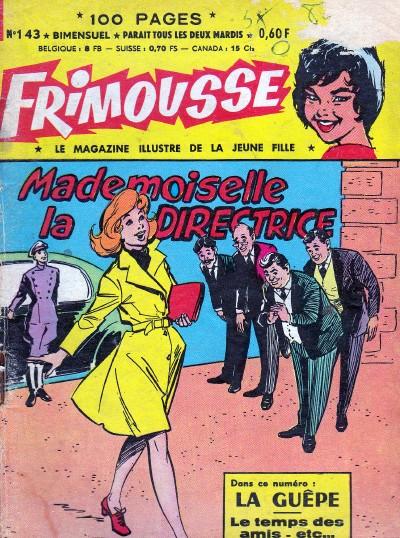 Couverture de Frimousse et Frimousse-Capucine -143- Mlle la directrice