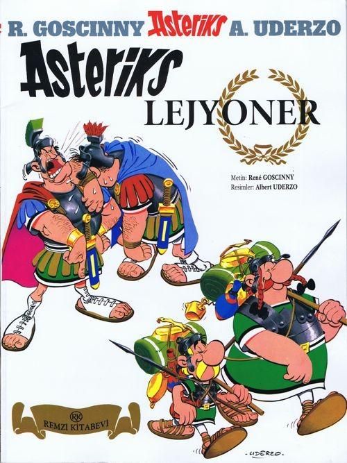 Couverture de Astérix (en langues étrangères) -10Turc- Asteriks Lejyoner