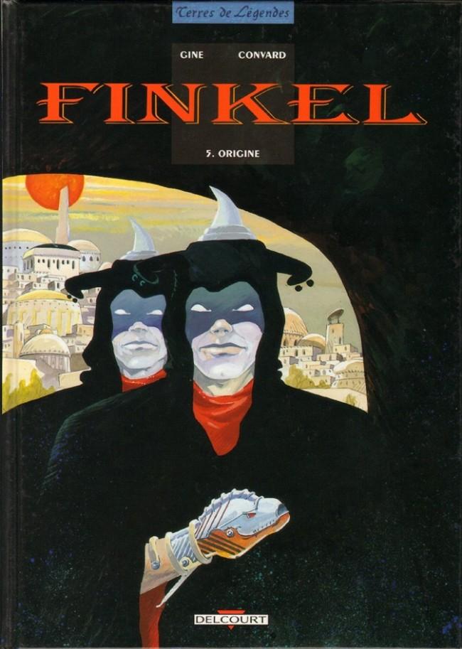 Couverture de Finkel -5- Origine