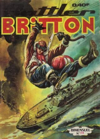 Couverture de Battler Britton -140- La menace des robots