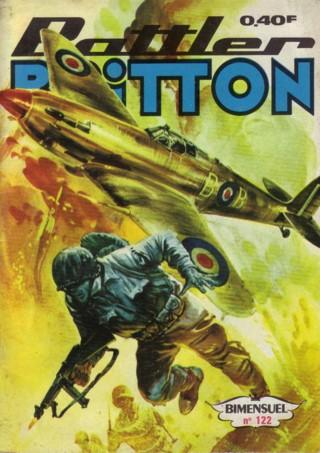 Couverture de Battler Britton -122- Opération lance-flammes