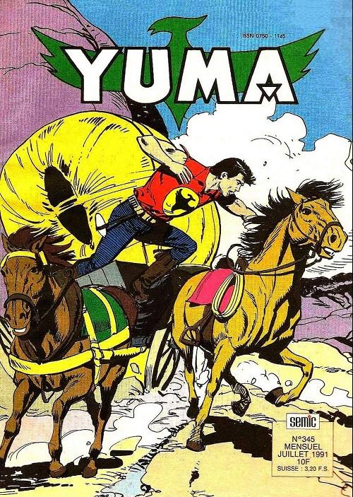 Couverture de Yuma (1re série) -345- Zagor l'implacable (1)