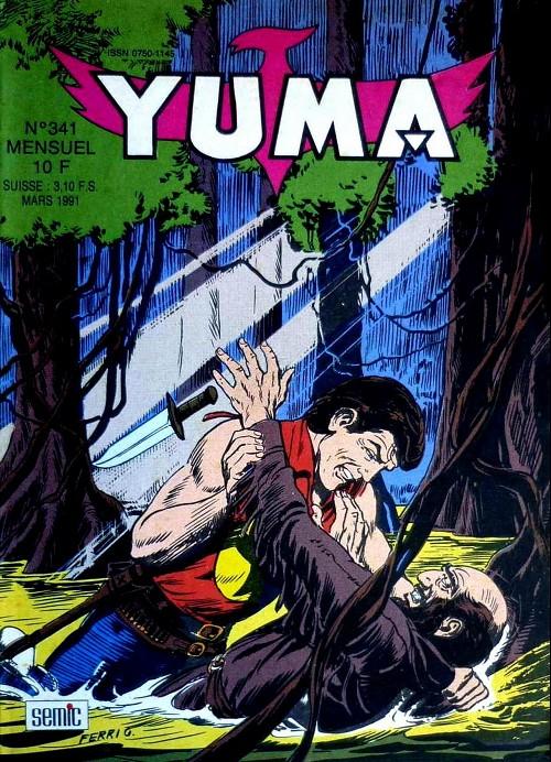 Couverture de Yuma (1re série) -341- Eau de feu (4)