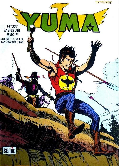 Couverture de Yuma (1re série) -337- Le faon disparu (2)
