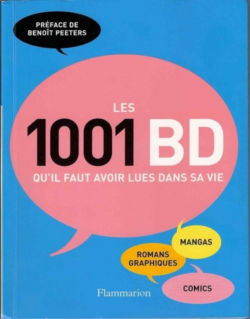Couverture de (DOC) Conseils de lecture - Les 1001 BD qu'il faut avoir lues dans sa vie