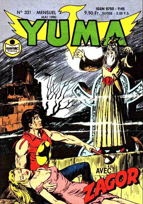 Couverture de Yuma (1re série) -331- La vallée de la peur (2)