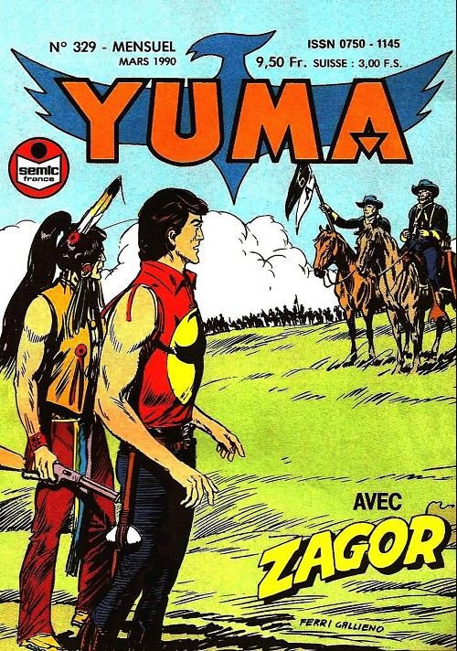 Couverture de Yuma (1re série) -329- Un siège tragique (2)