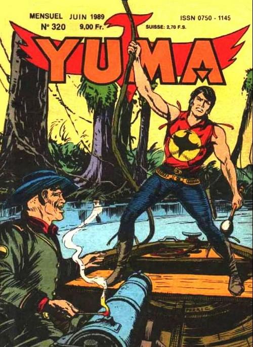 Couverture de Yuma (1re série) -320- Bataille sur l'Ohio