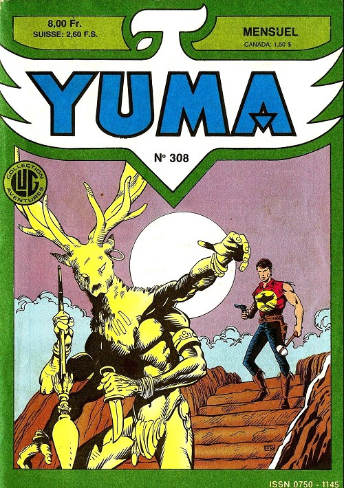 Couverture de Yuma (1re série) -308- Justice est faite !