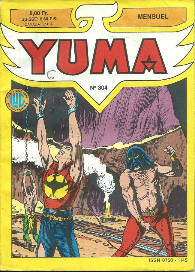 Couverture de Yuma (1re série) -304- Les diables noirs