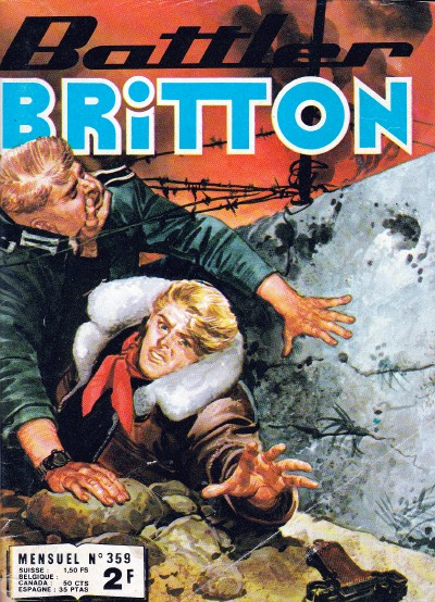 Couverture de Battler Britton -359- Objectif enflammé