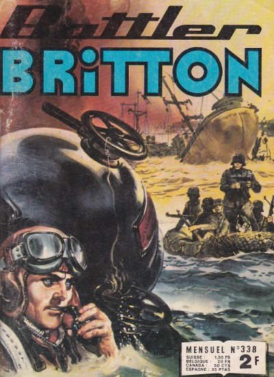 Couverture de Battler Britton -338- Opération