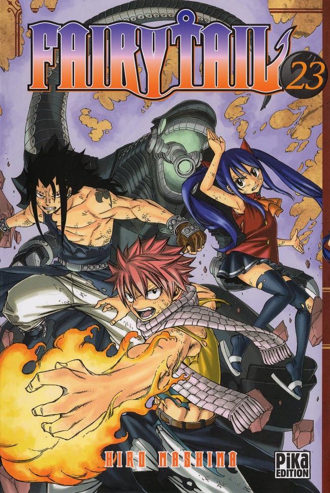 Couverture de Fairy Tail -23- Tome 23