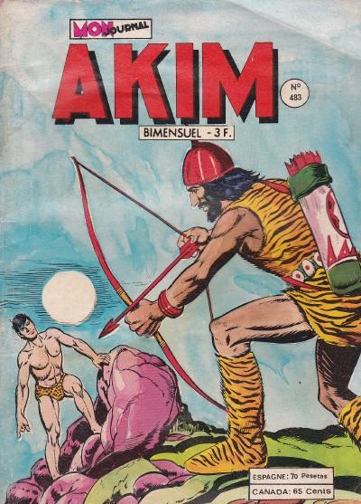 Couverture de Akim (1re série) -483- Le labyrinthe secret