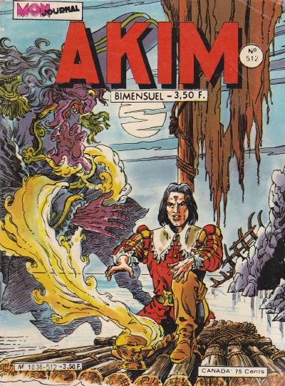Couverture de Akim (1re série) -512- Les Groks se déchaînent