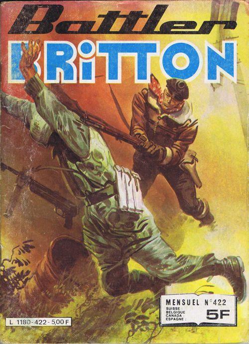Couverture de Battler Britton -422- Avec les pieds sur terre...
