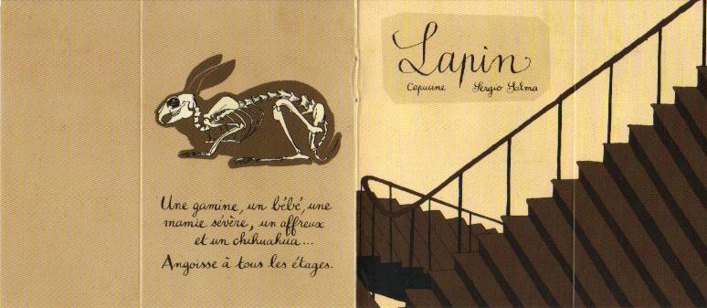 Couverture de Mini-récits et stripbooks Spirou -MR3856- Lapin