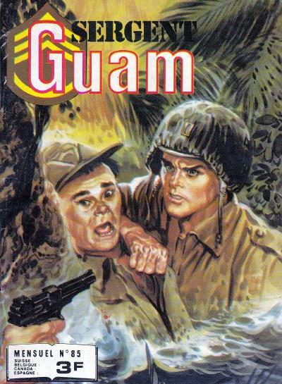Couverture de Sergent Guam -85- Un héros pour l'échafaud
