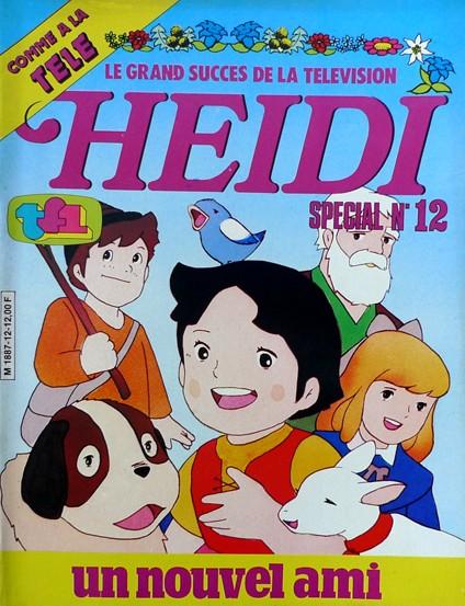 Couverture de Heidi spécial -12- Un nouvel ami