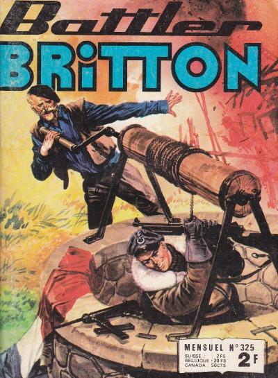 Couverture de Battler Britton -325- Objectif manqué