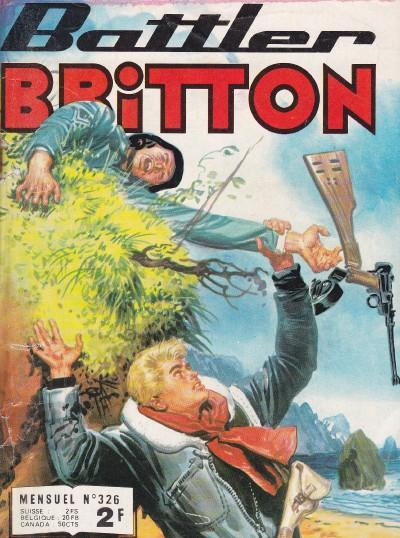 Couverture de Battler Britton -326- La vallée mystérieuse