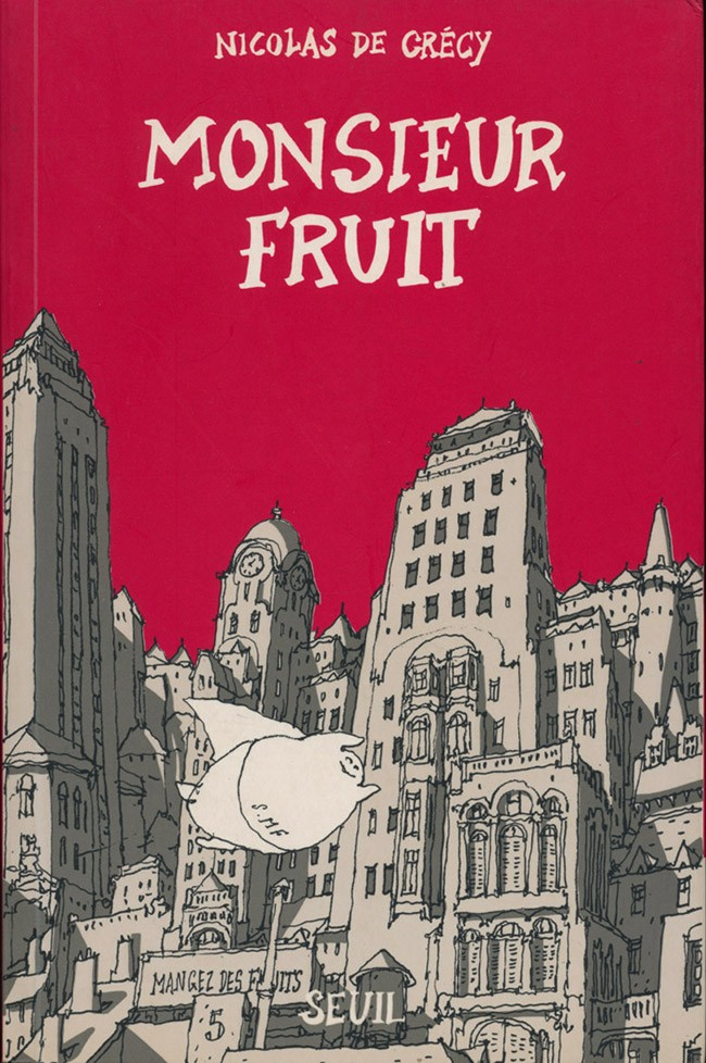 Couverture de Monsieur Fruit - Tome 1