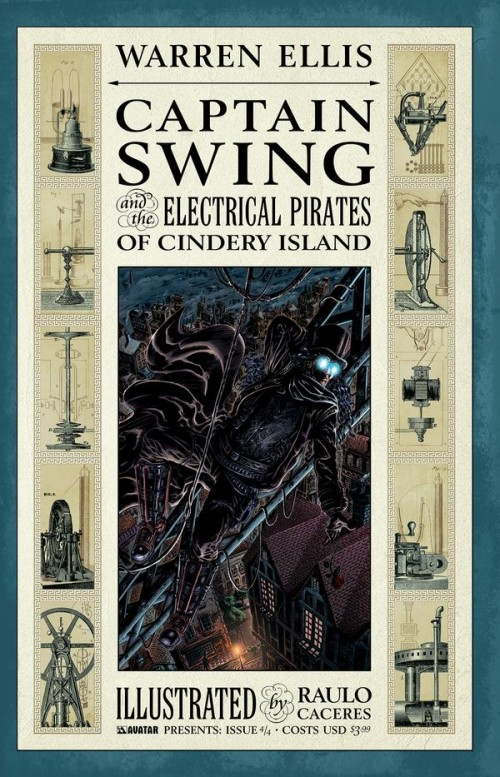 Couverture de Captain Swing and the electrical pirates of Cindery Island (2010) -4- Volume 4/4