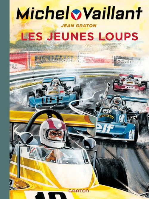 Couverture de Michel Vaillant (Dupuis) -31- Les jeunes loups