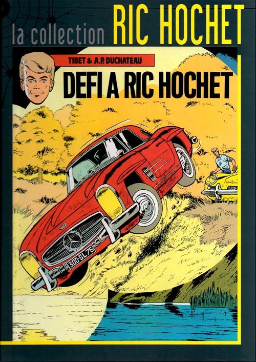 Couverture de Ric Hochet - La collection (Hachette) -3- Défi à Ric Hochet