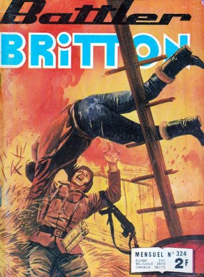 Couverture de Battler Britton -324- La mer de sable