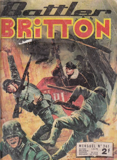 Couverture de Battler Britton (Imperia) -341- Difficile à abattre